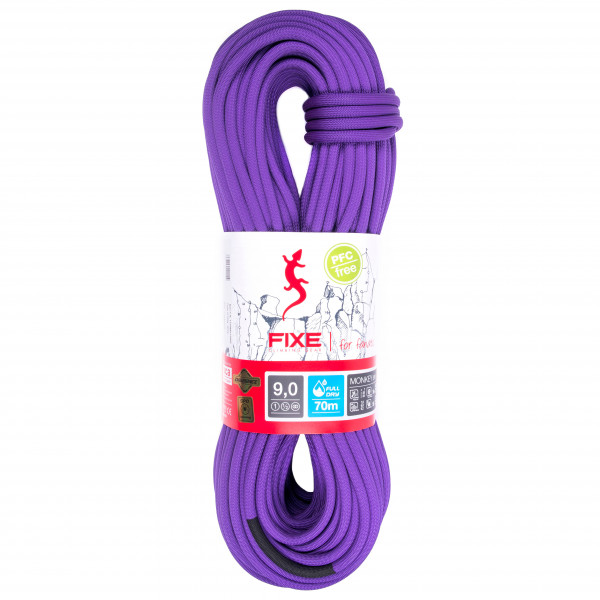 cordes simples FIXE - Rope Monkey SPD Fulldry 9 mm