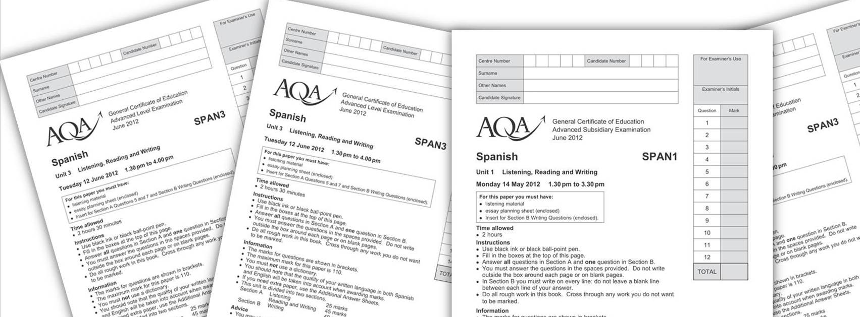 AQA GCSE Maths Past Papers Mark Schemes Specimen Papers