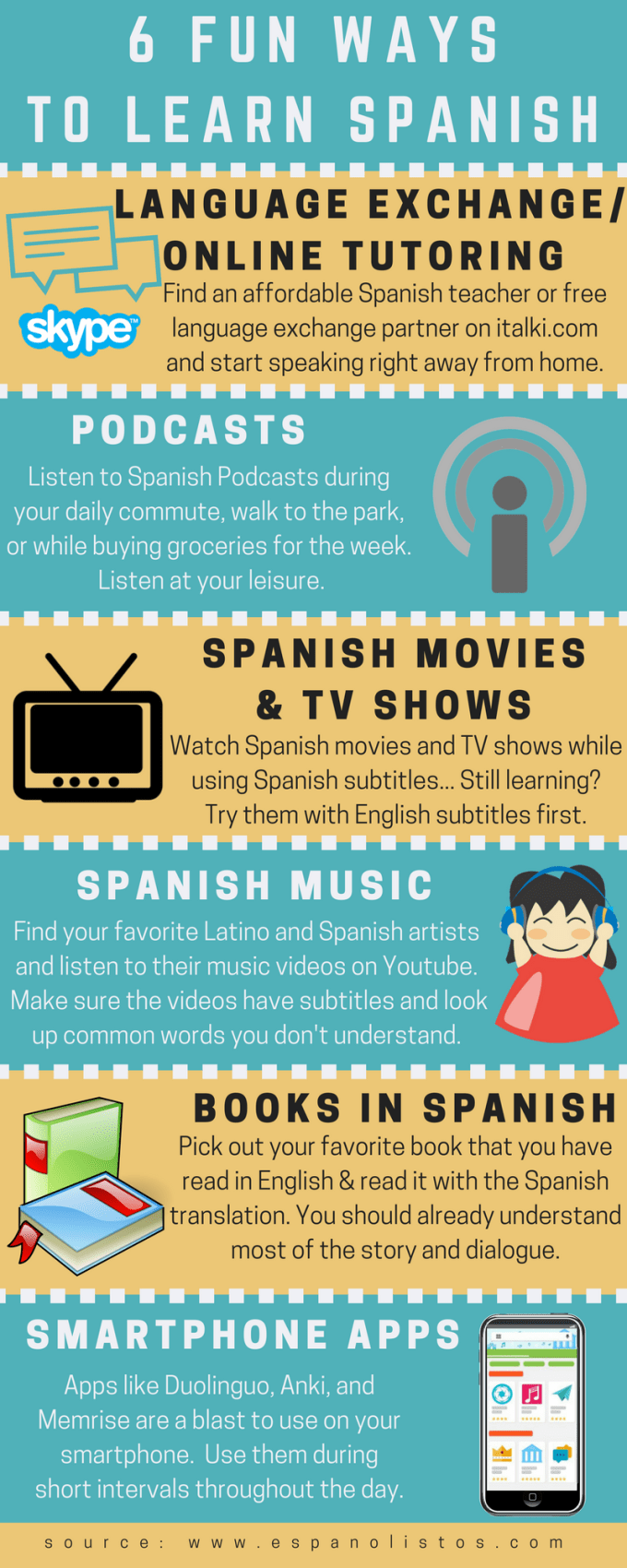 Fun Ways To Learn Spanish
