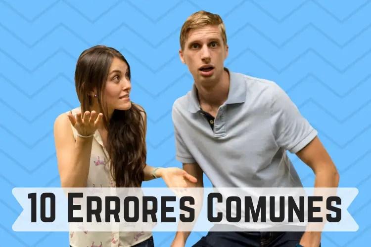 10 Errores Comunes En Español