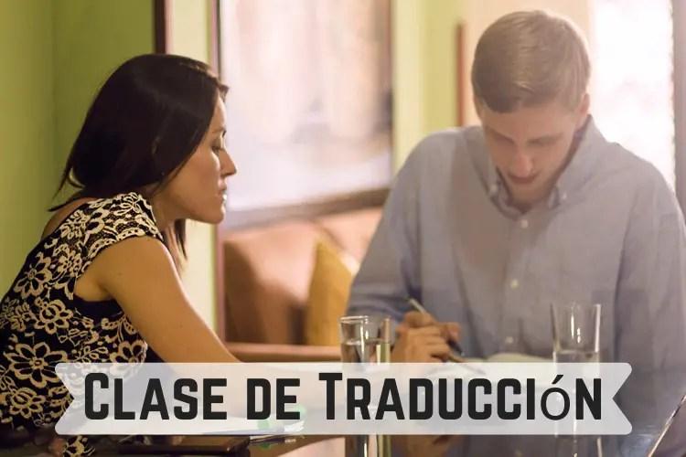 Clase de Traducción Spanish