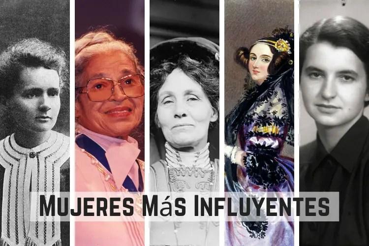 Mujeres Más Influyentes