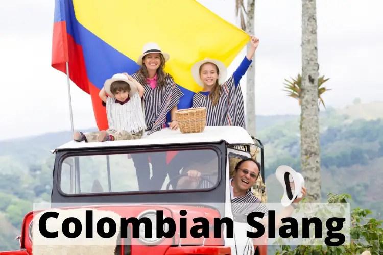 Colombian Slang