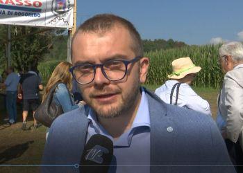 assessore regionale all'Agricoltura Fabio Rolfi