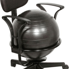 Ball Chairs Top Grain Leather Club Chair Metal Active Seating Especial Needs
