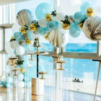 Color Theme Baby Shower: Blue and Gold - Especialz