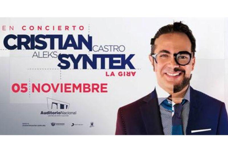 CristianCastro y AleksSyntek concierto2