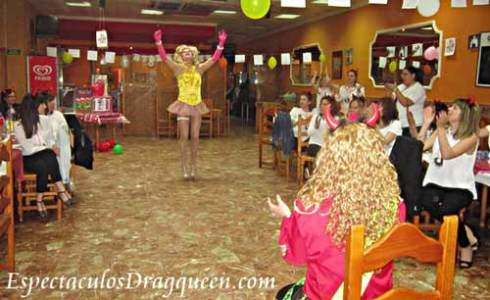 Show drag queen en Madrid