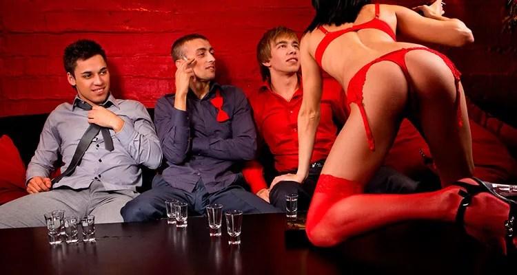 stripper para cenas de empresa navidad