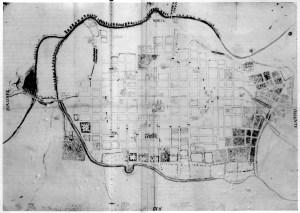 Plano confiscado a José Sixto Berdusco en 1813.
