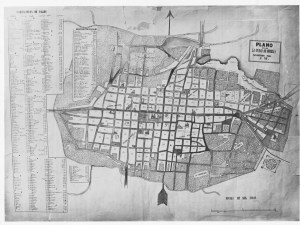 Plano de José Mota de 1857.
