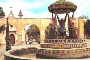 Acueducto, Fuente de las tarascas, 1950-1963