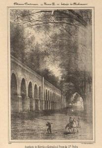 Acueducto, México Pintoresco, Tomo III, entre 380-381