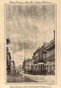 Calle Real, México Pintoresco, Tomo III, entre 372-373