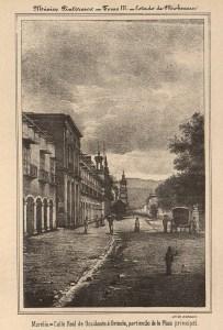 Calle Real, México Pintoresco, Tomo III, entre 376-377