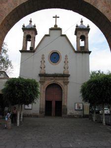 Capilla de Lourdes, antes del Señor del Rincón