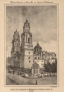 Catedral, México Pintoresco, Tomo III, entre 390-391