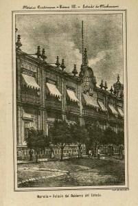 Palacio de Gobierno, México Pintoresco, Tomo III, entre 426-427