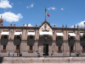 Palacio de Gobierno, antiguo Seminario Tridentino de San Pedro, Morelia