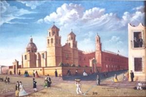 Pingo Torres Colegio de San Nicolas y Templo de la Compañia