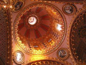 Cúpula del Santuario de Guadalupe, en Morelia