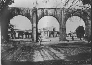 Calzada Madero y Acueducto