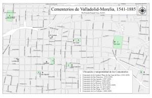 Cementerios de Valladolid-Morelia, 1541-1895