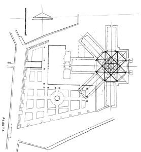 Catedral de San Salvador, planta arquitectónica