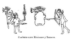 Combates entre Mexicanos y Tarascos 0100