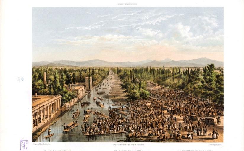 """Litografías del libro """"México y sus alrededores"""" de 1858. Parte 2 de 3."""