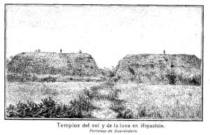 Templos del sol y de la luna en Ihuatzio 0277