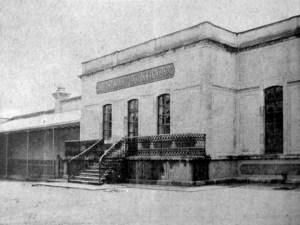 Instalaciones del Hospital, 1901.