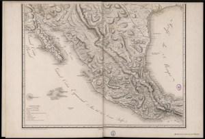 Nueva España en 1804, arreglado a 1809, por el Barón Alexander Von Humboldt -completo-