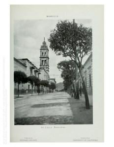 Calle Nacional, antes Calle Real, hoy Avenida Madero Oriente.