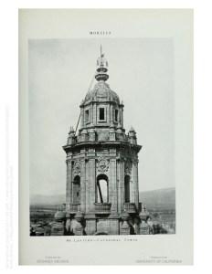 Linterna de la torre poniente de la Catedral.