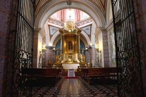 Vista del Camerín de la Virgen