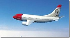 A Norwegian plane - white paint is cheap