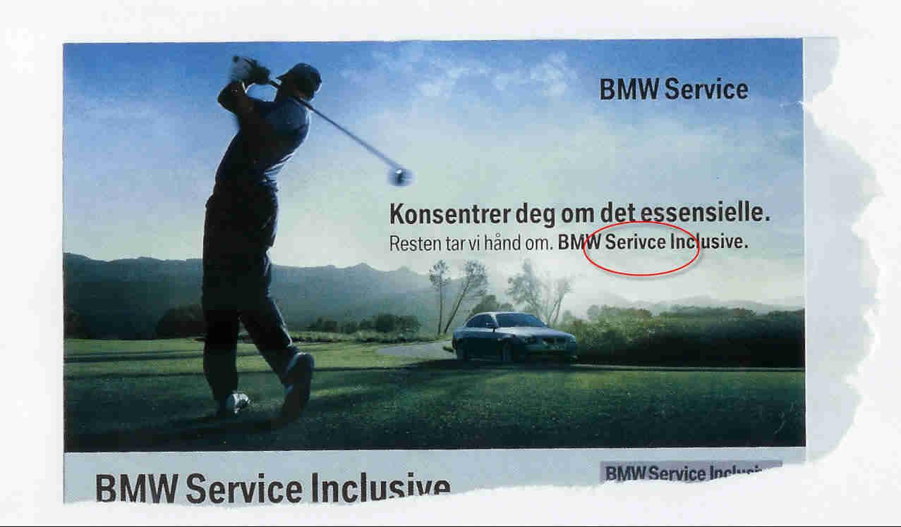 BMW service uten problemer?