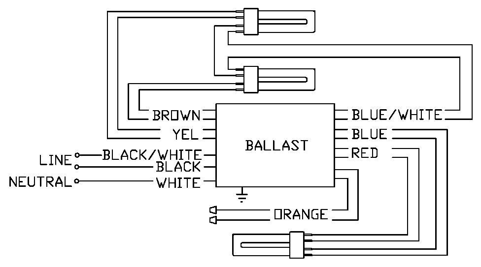 bodine b50 emergency ballast wiring diagram bodine b90