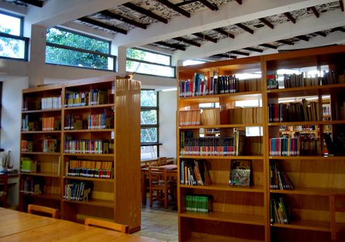 biblioteca infantil inside