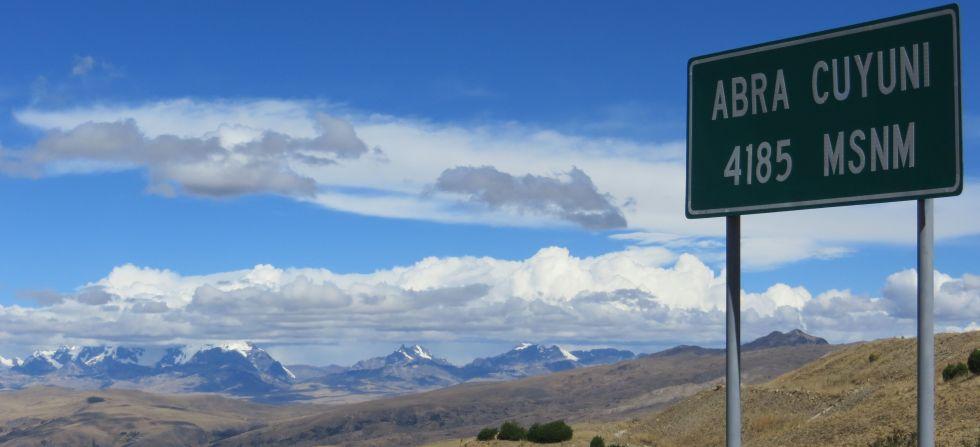 Cuyuni Pass, Quispicanchi, Cusco