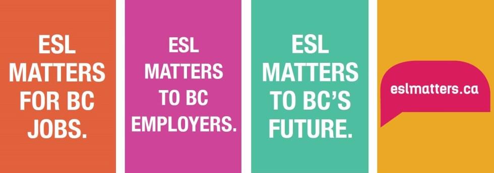 ESL Matters Poster