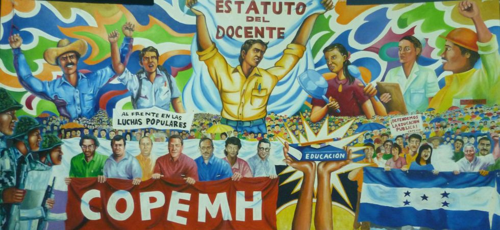 COPEMH Honduras Mural