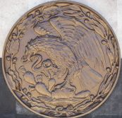 Mexico Coat of Arms (Bronze)