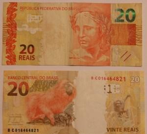 Nota brasileira de 20 Reais