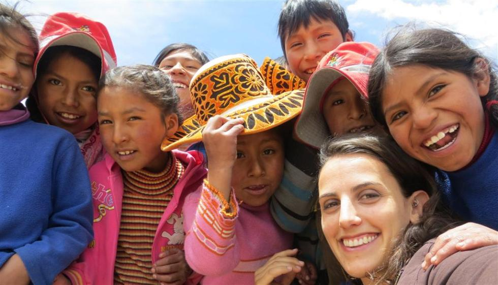 Quechua speaking children