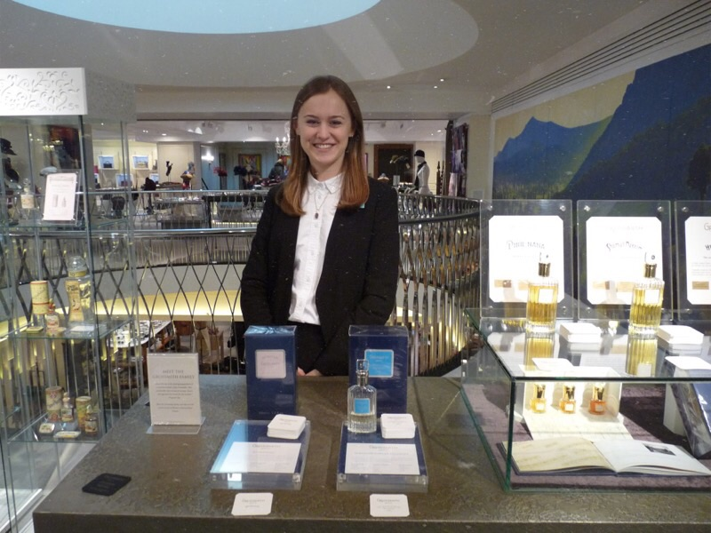 Kate Brooke at Fortnum and Mason