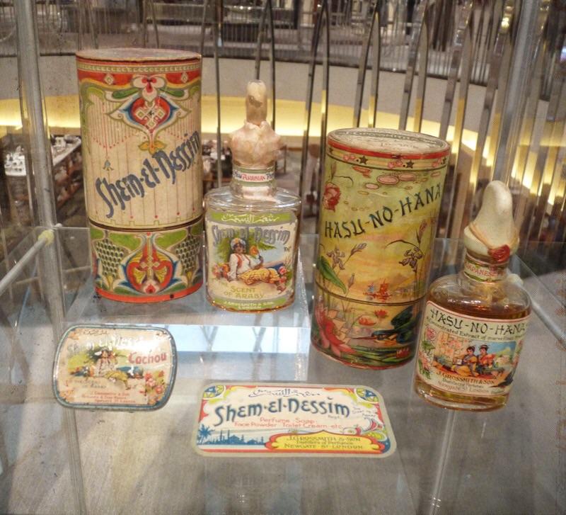 Shem-el-Nessim and Hasu-no-Hana Museum Pieces