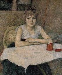 Poudre de Riz, Henri de Toulouse - Lautrec 1887, Van Gogh Museum Amsterdam