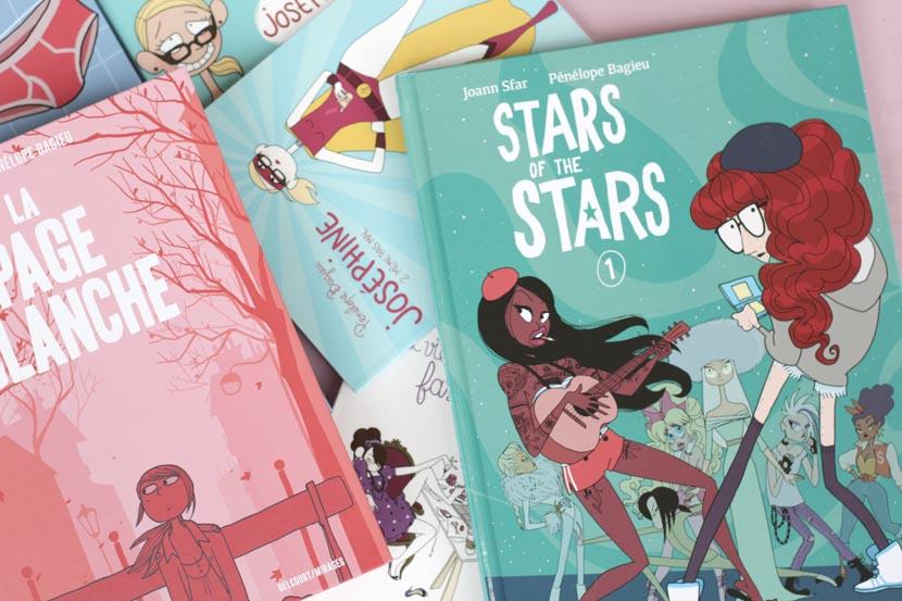 stars of the stars, Pénélope Bagieu joann sfar